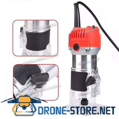 800W 6.35mm Electric Hand Trimmer Wood Laminate Palm Router Joiner Tool 110V 220V