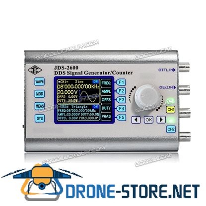 New JDS2600 40MHZ Dual Channel Function Arbitrary Waveform DDS Signal Generator