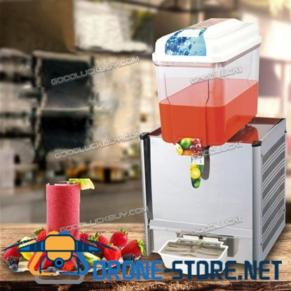 18L Commercial Juice Beverage Cold Refrigerated Drink Dispenser Machine One Tank