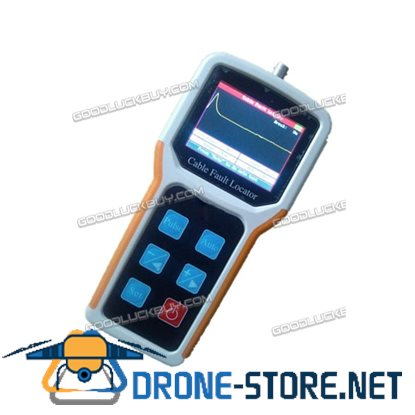 S-600A Waveform Display Cable Fault Locator 8Km CCTV BNC Cable TDR CFL