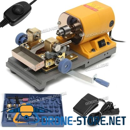 Pearl Beads Drilling Holing Machine Driller Jewelry Punch Tools Set 110V 220V