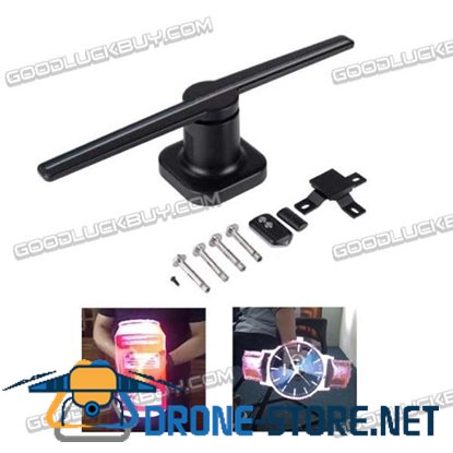 New 3D Holographic Graphics HoloSpin LED Lamp Display P1.875 Advertising Machine