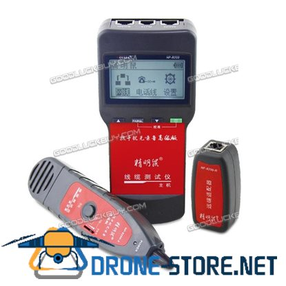 NF8200 Network telephone cable tester RJ45 RJ11 inspection Wire Continuity Track