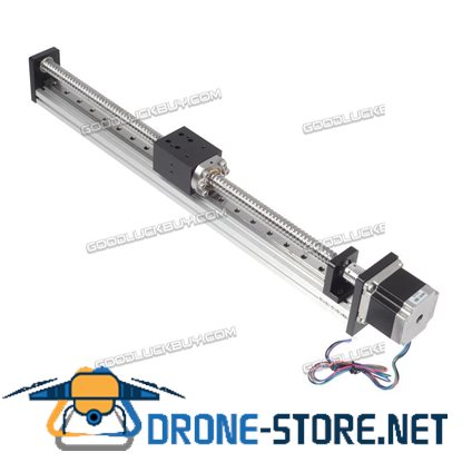 Threaded Rod Linear Guide Rail with Motor and Ball Screw for CNC Linear Actuator 400MM