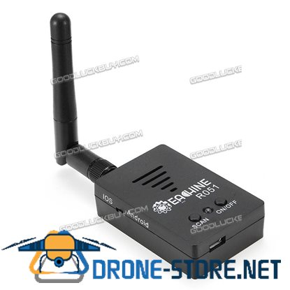 Eachine R051 150CH 5.8G FPV AV Recevier Build-in battery for Android IOS Smartphone Tablet