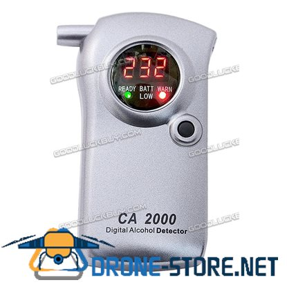 CA2000 Breathalyzer Digital Personal Professional Alcohol Detector Tester