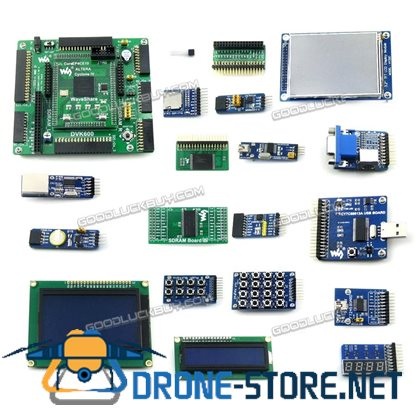 ALTERA FPGA EP4CE10 EP4CE10F17C8N Cyclone IV Development Board & 20 Modules Kits