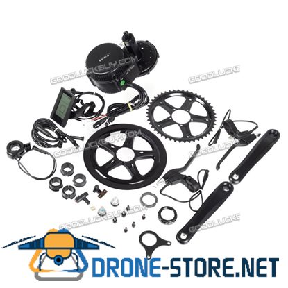 Latest BBS02 48V 750W 8Fun Bafang Mid Drive Ebike Conversion Kit BB:68mm Electric Bicycle