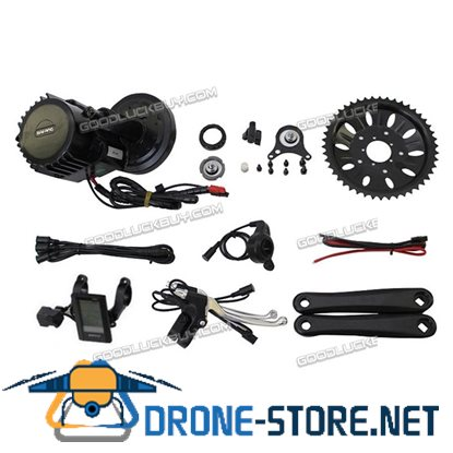 Latest BBS03 48V 1000W 8Fun Bafang Mid Drive Ebike Conversion Kit BB:120mm Electric Bicycle