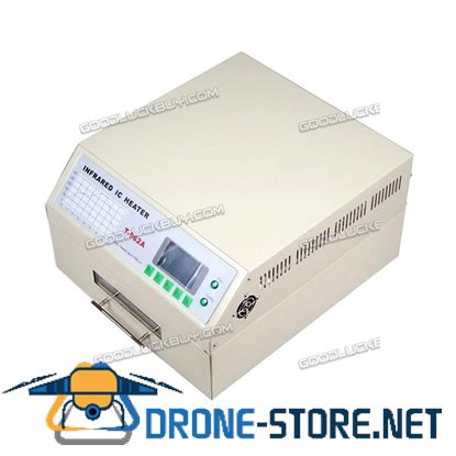 T962A Infrared Reflow Oven SMD BGA 300x320mm Digital LCD Display Soldering