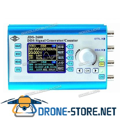 Dual Channel Arbitrary Waveform Signal Generator High Frequency 200MSa/s 60MHz