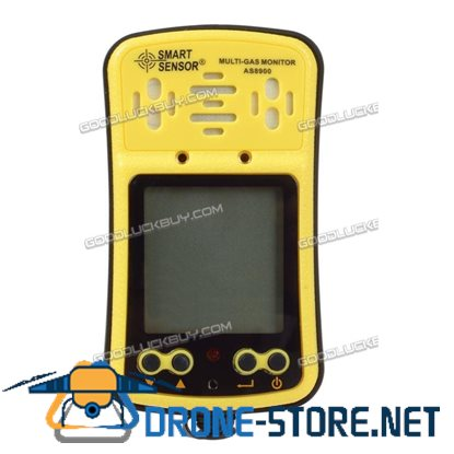 4 in 1 AS8900 Gas Monitor Detector AS8900 CO O2 H2S Oxygen Gas Analyzer Meter