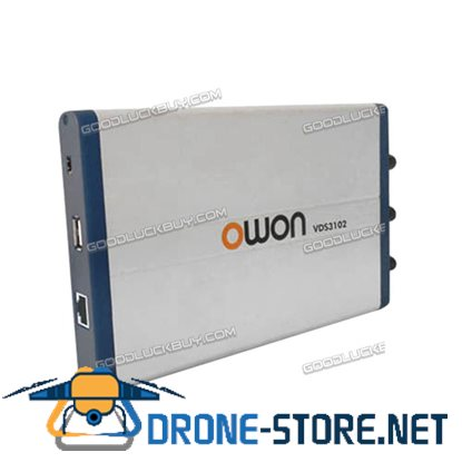 OWON VDS3102L 100MHz LAN Port USB PC Digital Storage Portable Oscilloscope 2+1ch