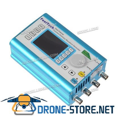 FY2300H Function Arbitrary 60Mhz Waveform Generator Dual Channel 250MSa/s Signal Meter