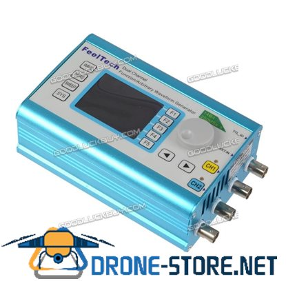 FY2300H Function Arbitrary 50MHz Waveform Generator Dual Channel 250MSa/s Signal Meter