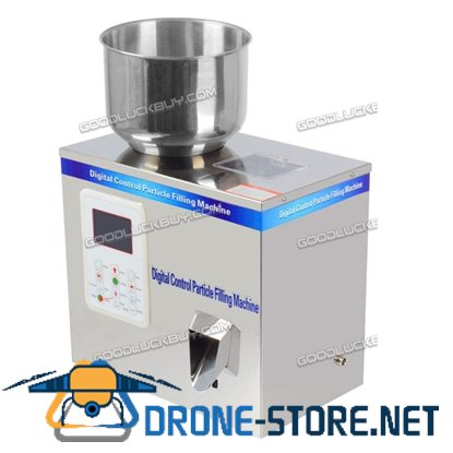 2-100g Small Automatic Particle Subpackage Device Weighing & Filling Machine