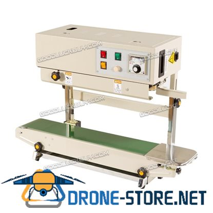 832456 Automatic Bag Band Continuous Sealing Packing Machine Sealer FR-900