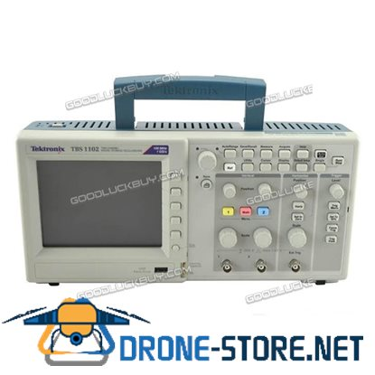 EKTRONIX TBS1102 5.7'' COLOR Storage Oscilloscope 100MHz 2 Channels 1.0GS/s