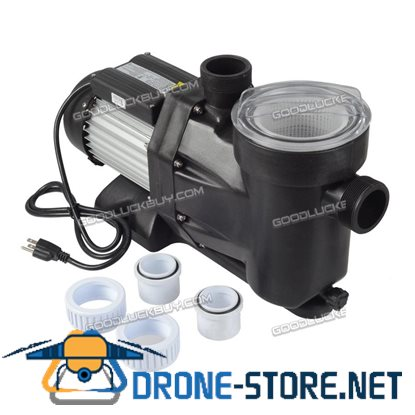 """1.5HP Swimming Pool Electric Pump Water Above Ground SPA DC 5040 GPH 1-1/2"""" NPT 110V"""