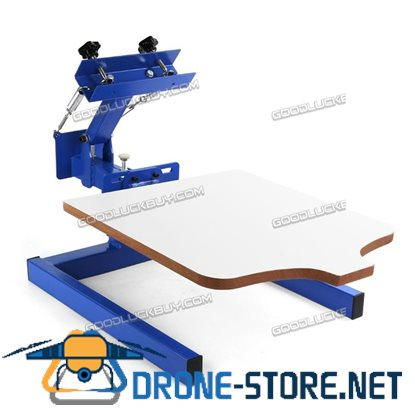 1 Color Screen Printing Press Machine Silk Screening Pressing DIY with 1 Station