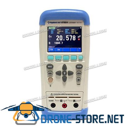 Applent AT824 W/Software LCR L C R Meter Touch Screen LCD USB 100/120Hz 1K Hz