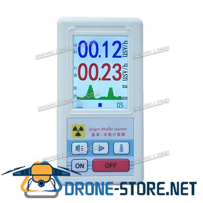 Geiger Counter Nuclear Radiation Detector Personal Dosimeters Marble Tester Kit