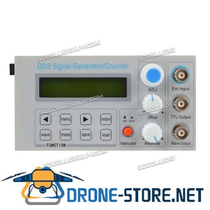 2MHz DDS Function Signal Generator Frequency Counter Square Wave Sweep BNC TTL