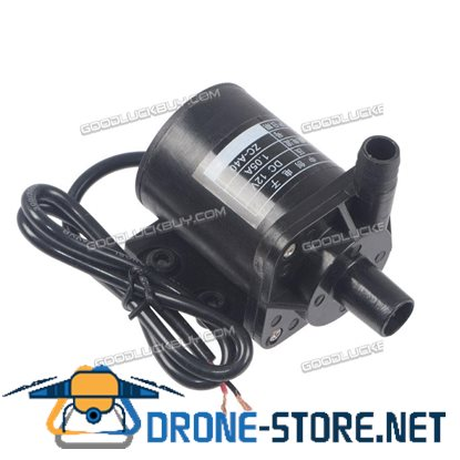 12V DC Submersible Water Fountain Pump 145GPH 10' Lift 12v Battery Or Solar ZC-A40