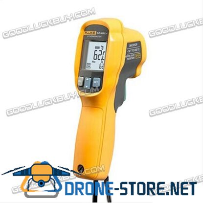 Fluke 62 Max+ Dual Laser Infrared Thermometer -30 to 650 Degree