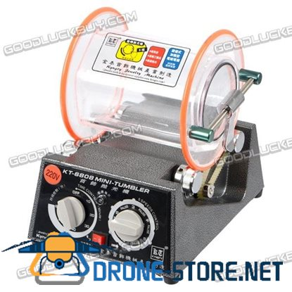KT6808 Rotary Tumbler Jewelry Polisher&Finisher+Extra Polishing Bead+Burnishing Powder
