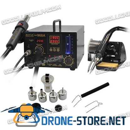 Multifunctio AOYUE 968A+ SMD/SMT Hot Air 3 in1 Repair & Rework Station 110V/220v