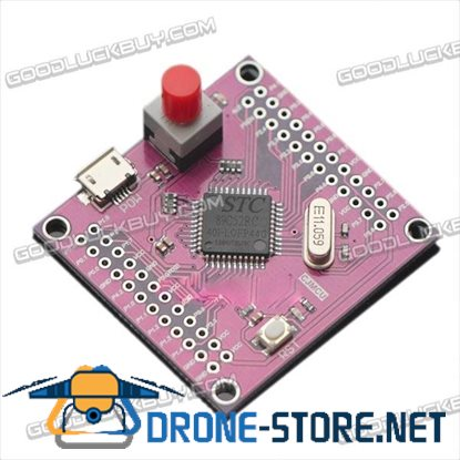 CJMCU-52 STC89C52RC Mini Development Board Module 41*43mm Purple