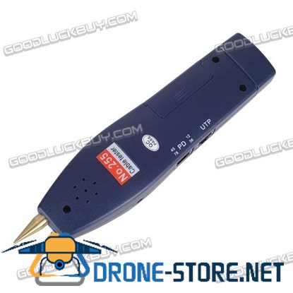 """Portable IPC-8600MOVT 7"""" Touch HD IP Camera Display TDR PTZ POE Tester DC Output"""