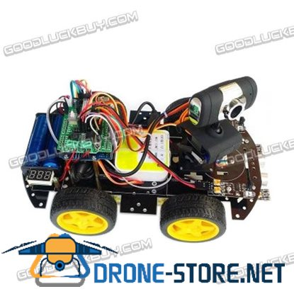 R3 Wifi Smart Car Combo 4WD Smart Car Chassis with L293D Motor Driver HJ-Link Wifi AV Transmit Module for RC