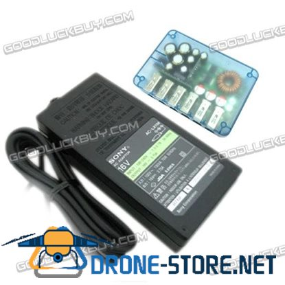 6 Port USB Charger 5.3V 12A Output Support QC2.0 with 16V Power Smartphone iPhone Tablet
