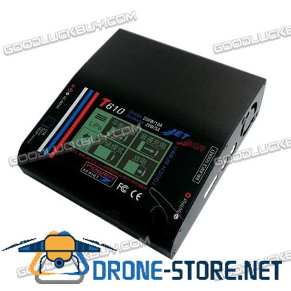 PG T610 Pro RC 250W 10A Balance Charger/Discharger Touch Screen with PS350 DC Power Adapter