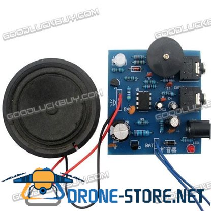PCB Board Components Kit for DIY Power Amplifier Unassembled