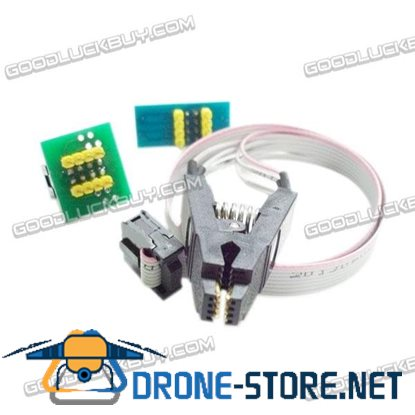 BATE SOP8 BIOS Clamp Test Clip Wide/Narrow 8Pin Universal Program Clip with Cable