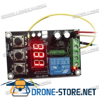 DC 0-200mA AMP Current Sensor Module Relay Output with Setting Function
