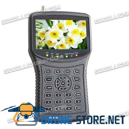 4.3 inch LED HD Handheld Satellite Finder DVB-S/MPEG-2 KPT955G
