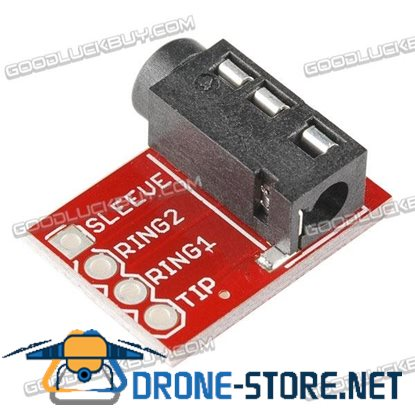 TRRS 3.5mm Jack Breakout for Audio-style Connectors Phones MP3 Players Development Board