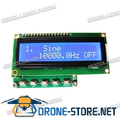 DDS Signal Generator Function Generator Stronger than M328 0.1hz ~ 100khz + Frequency Meter