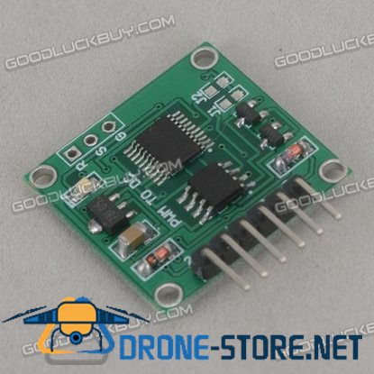 PWM to Voltage PWM Turn 0-5v 0-10v 5 ~ 500Hz Low Frequency Linear Conversion Transmitter Module MWDL14