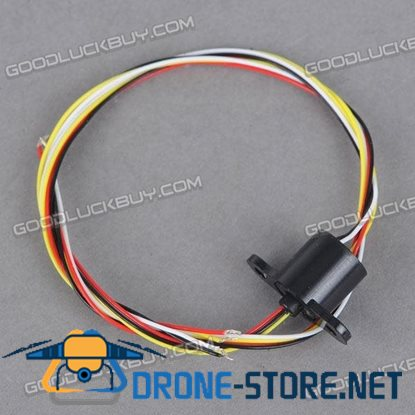 SNM008-04 8.4mm 4Wire 1A/Circuit Micro Slip Ring Conductor 250RPM
