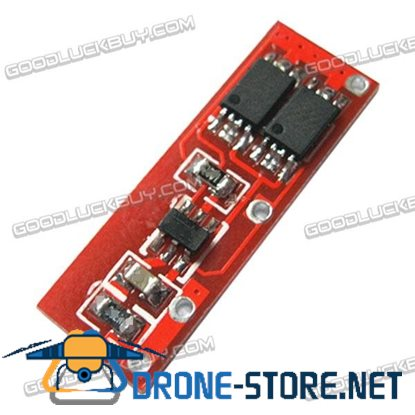 Dual MOS 3.7V 1S Lipo Battery Protective Module Red
