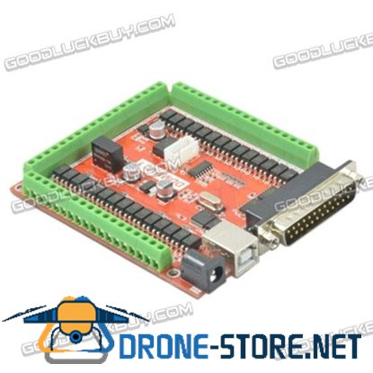 Parallel MACH3 6 Axis Interface Board DDMMV2.1 w/USB Expansion Port