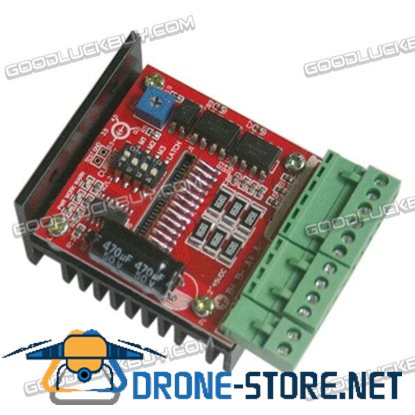 Compact 4A TB6600 Stepper Motor Driver Controller Board Red