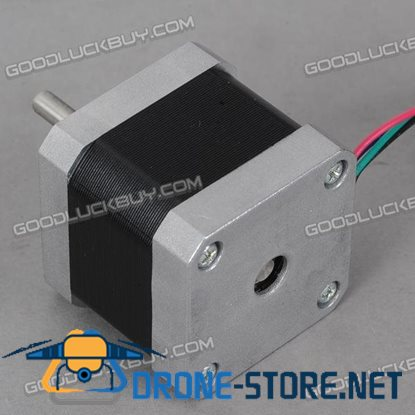 42BYGH Series Two-phase Hybrid Stepper Motor 40mm 1.3A 1.8 Degree for CNC Carving Machine