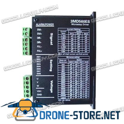 CNC 3MD560ES 24-50V Microstep Driver 5.8A Three-phase Stepper Motor Driver