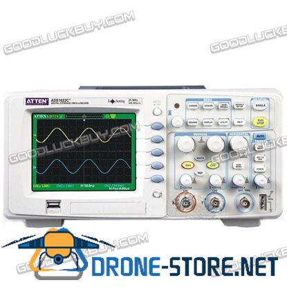 ATTEN ADS1022 C 25MHz Digital Oscilloscope DSO ADS1022C